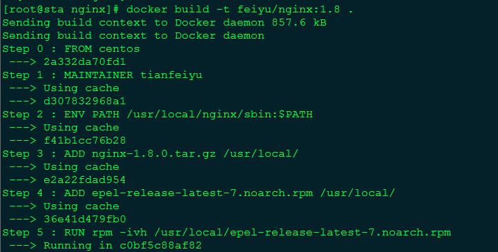 Dockerfile 详解